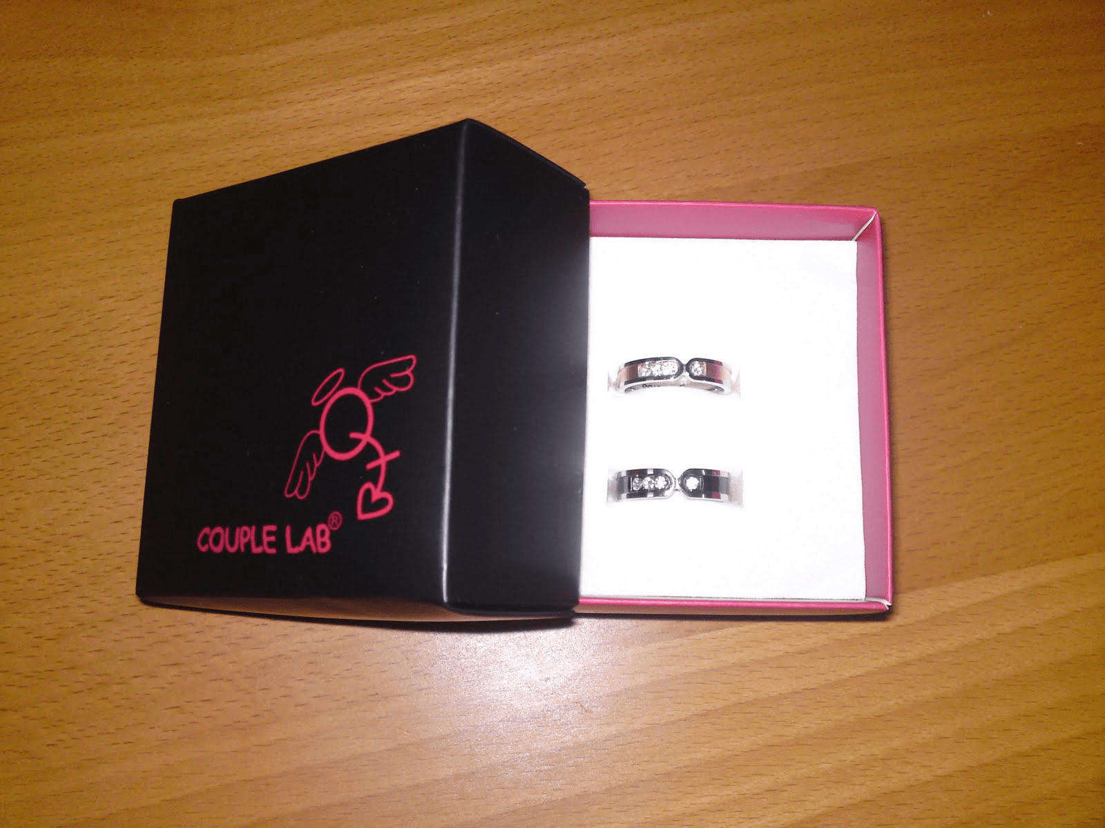 matching couple rings from couple lab