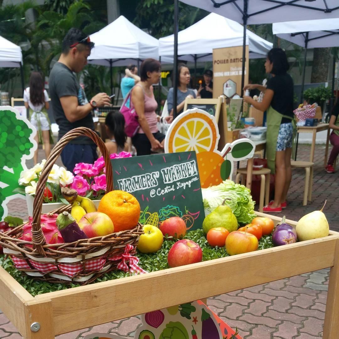 Farmers' market @ central singapore