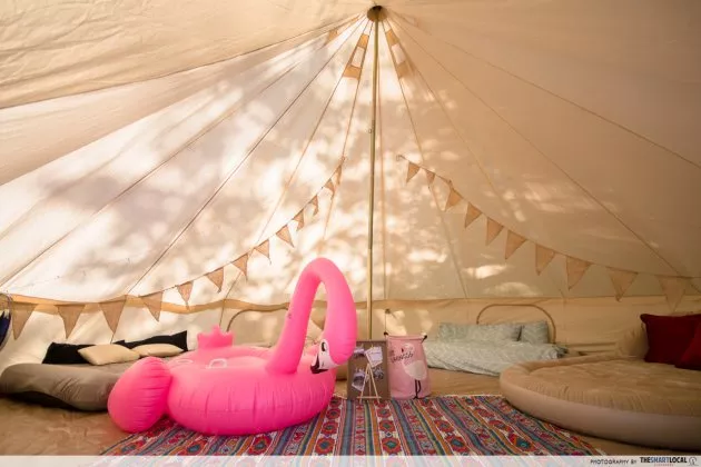 Date Ideas - Glamping Beds