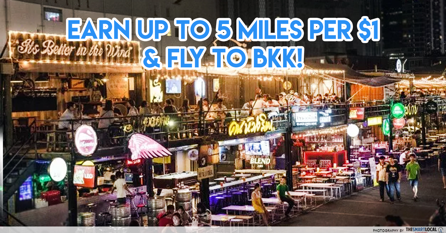 Mileslife (1) - Earn up to 5 miles more & fly to BKK!