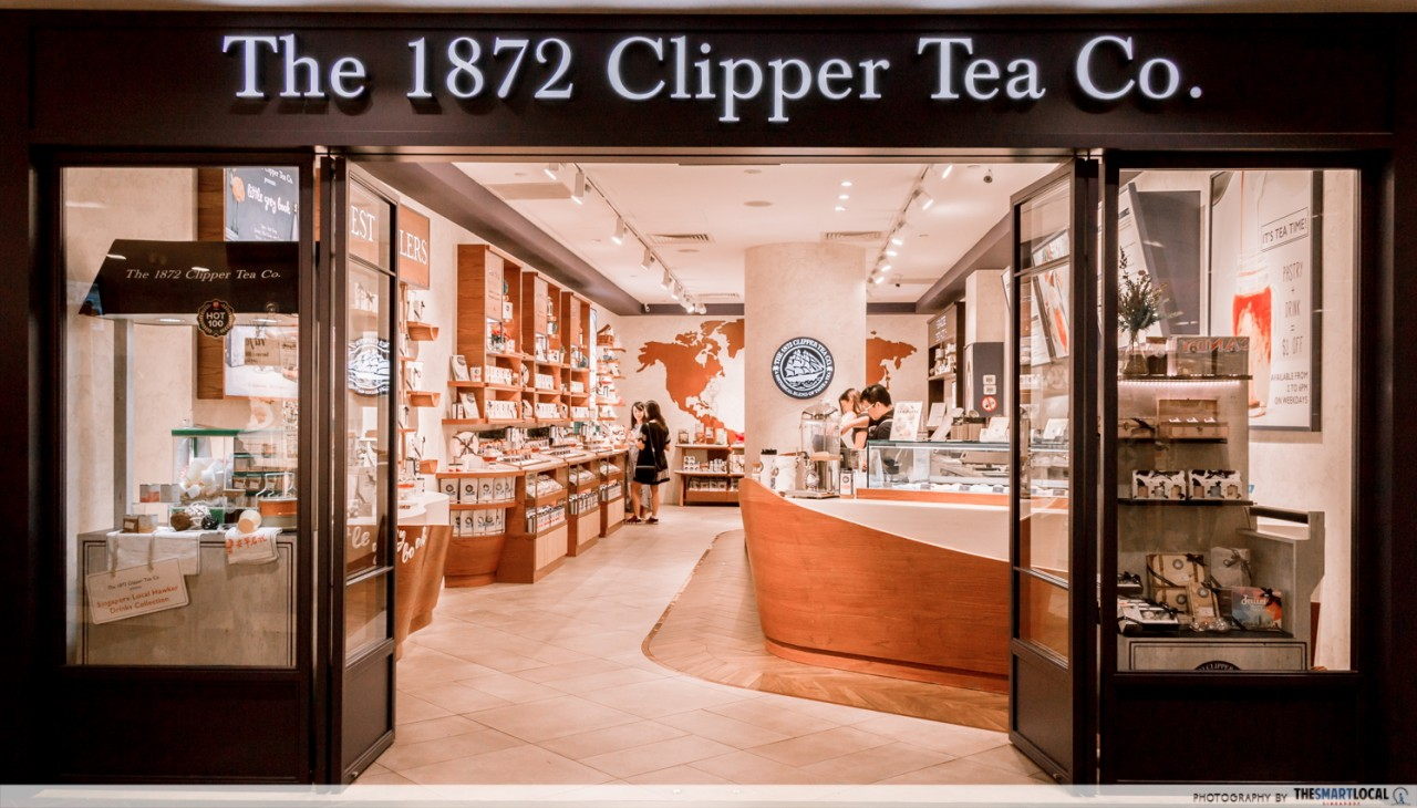 clipper tea singapore ion orchard