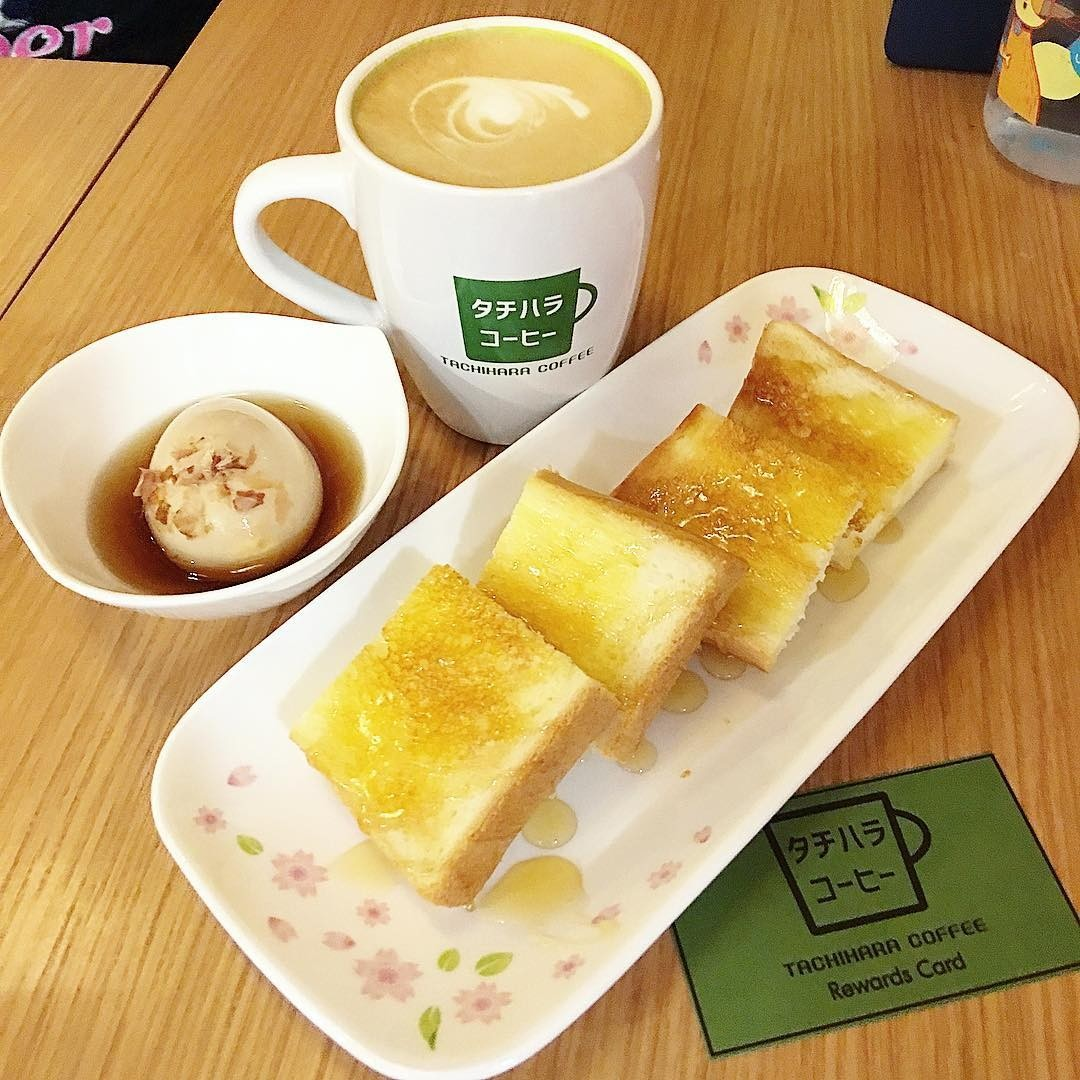tachihara coffee toast