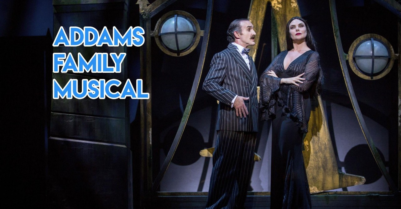 The Addams Family Musical - This Twisted Cartoon From Our 90s Will Be Back To Spook Us In The Flesh This November