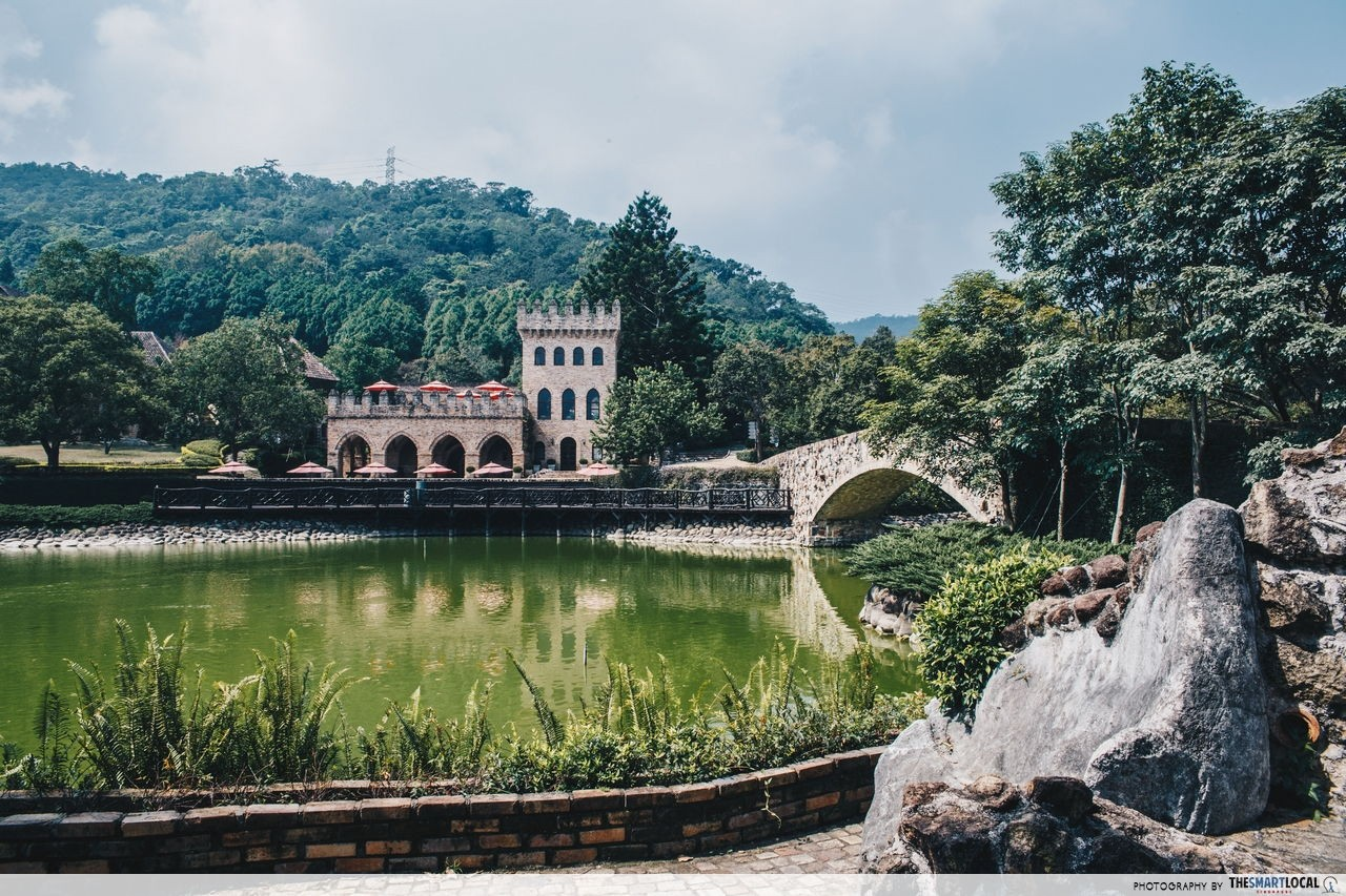 Xin She Castle lake Taichung