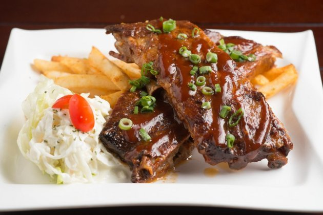 BBQ honey pork ribs