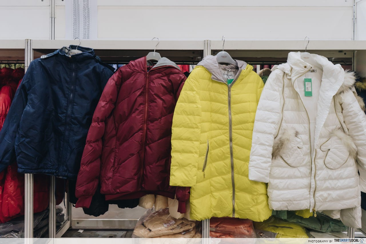 faux-fur hood padded jackets from $150