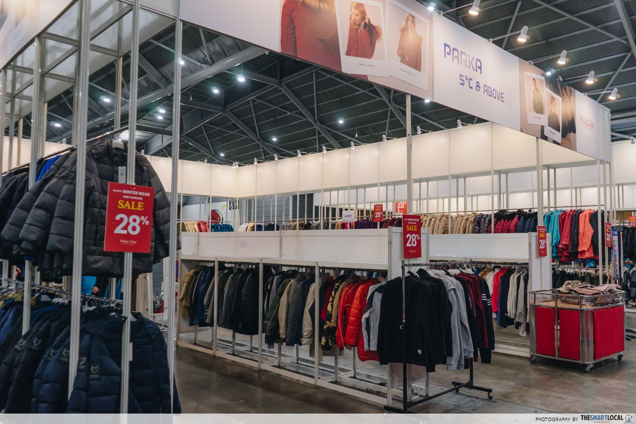 up to 80% off at winter time's sale at expo