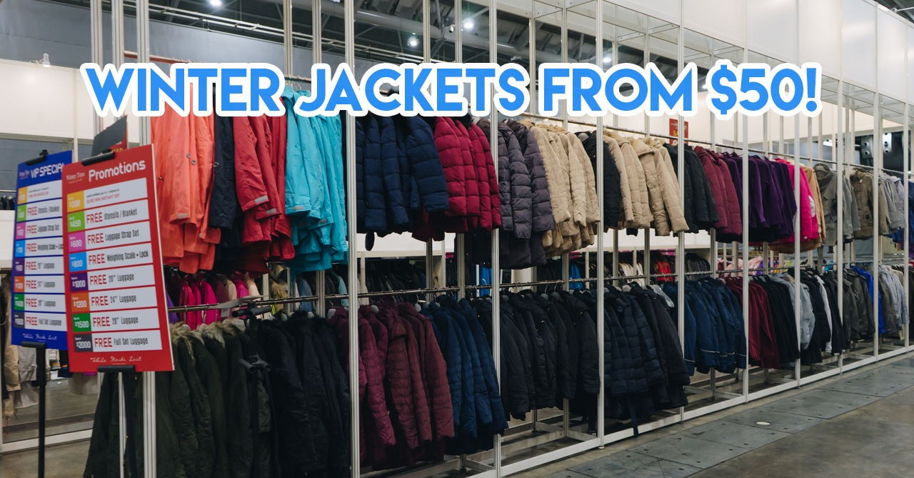 PSA: You Can Get Up To 80% Off Winter Wear And Luggage At Expo From 1 To 5 November