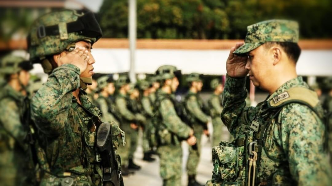 The Singapore Army