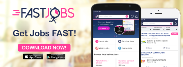 get jobs fast with fastjobs