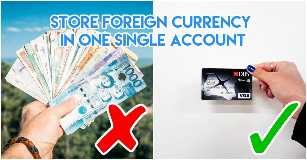 Dbs Multi Currency Account Lets Travelers Buy Foreign Currencies At Wiring Money From Korea To Usa Change 24 7 Without Going The Changer
