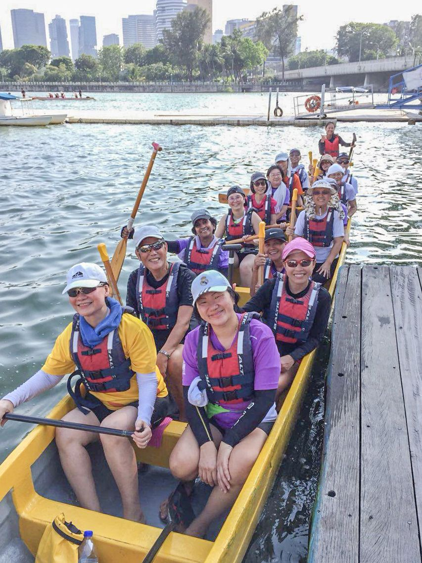 Purple dragons dragon boating team singapore