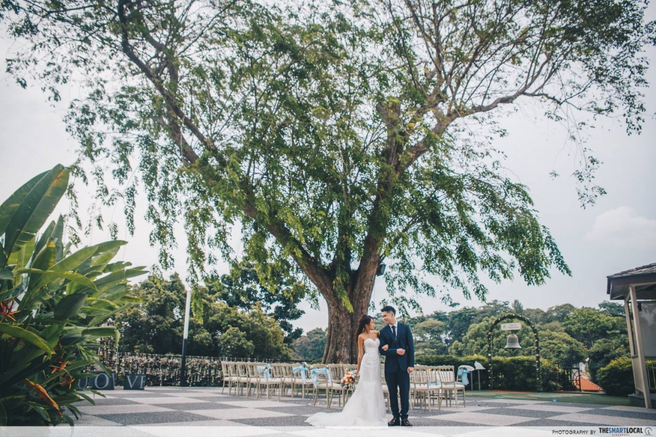 Wedding at Faber Peak - Heart Shaped Tree