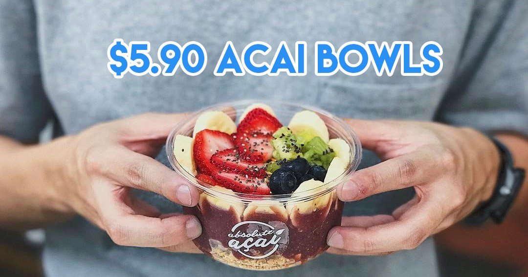 10 Affordable Acai Bowls In Town Below $10 For A Non-Caffeinated Morning Boost