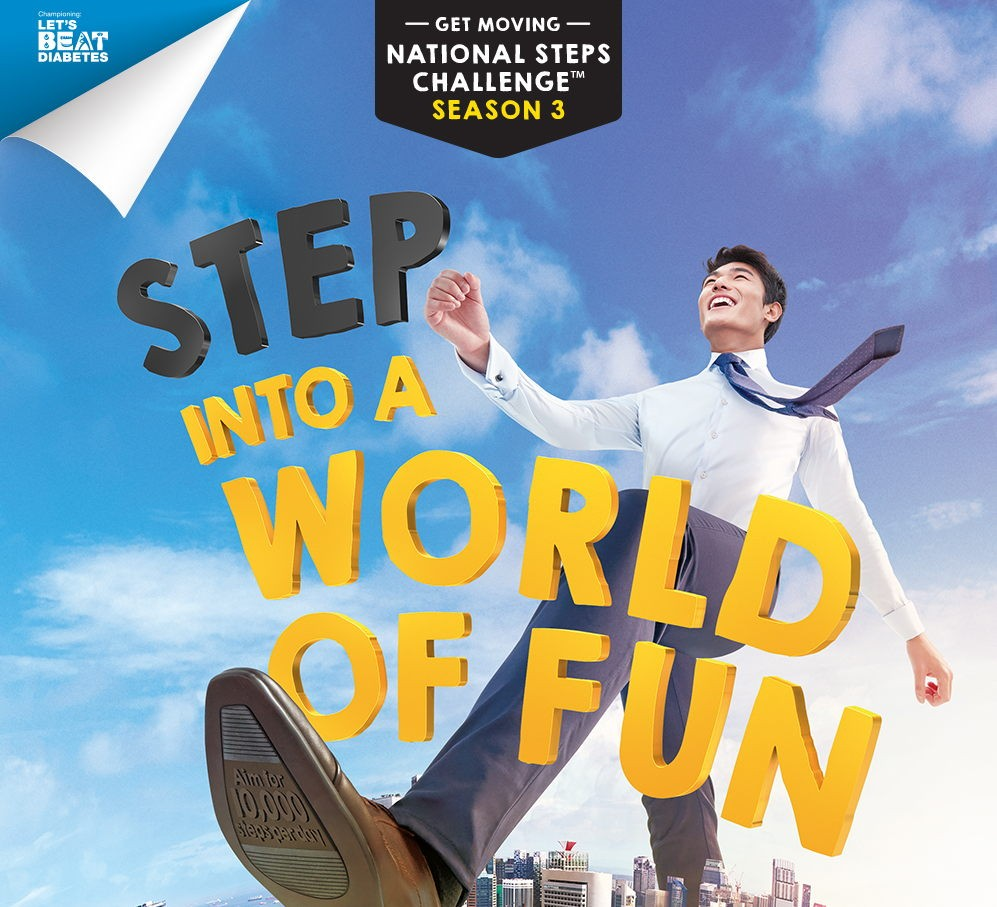 National Steps Challenge Season 3 Singapore