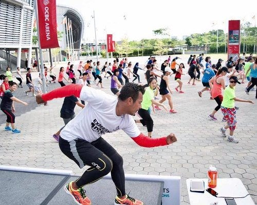 Free HIIT exercise classes in Singapore Experience Sports FIT Sessions