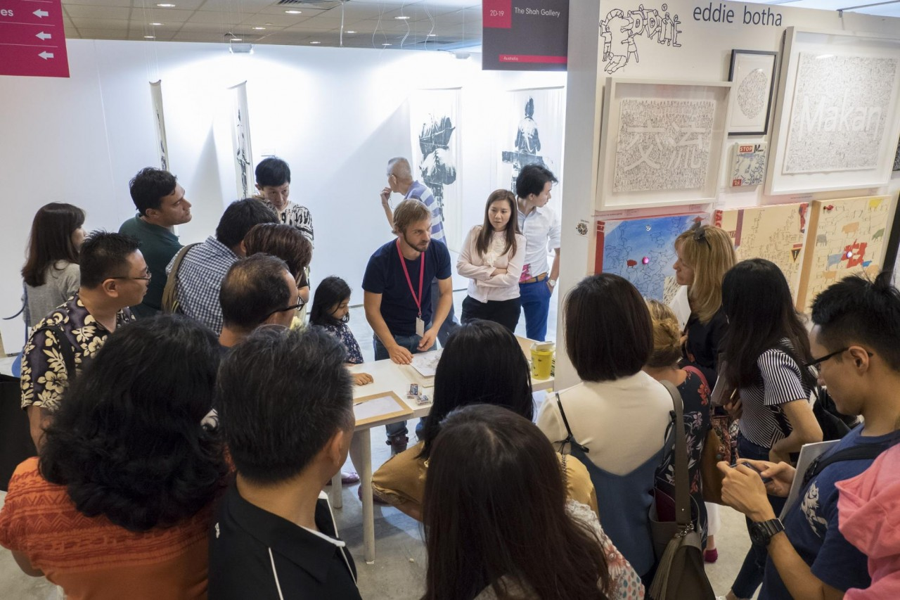 affordable art fair sg activities