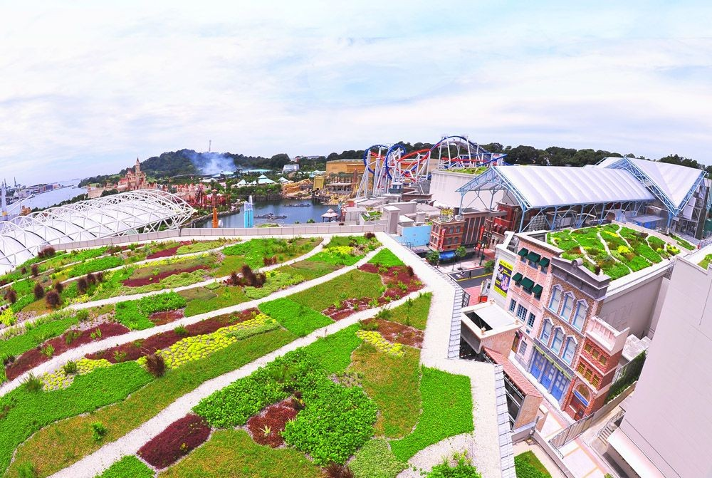 Asia's largest green roof at USS