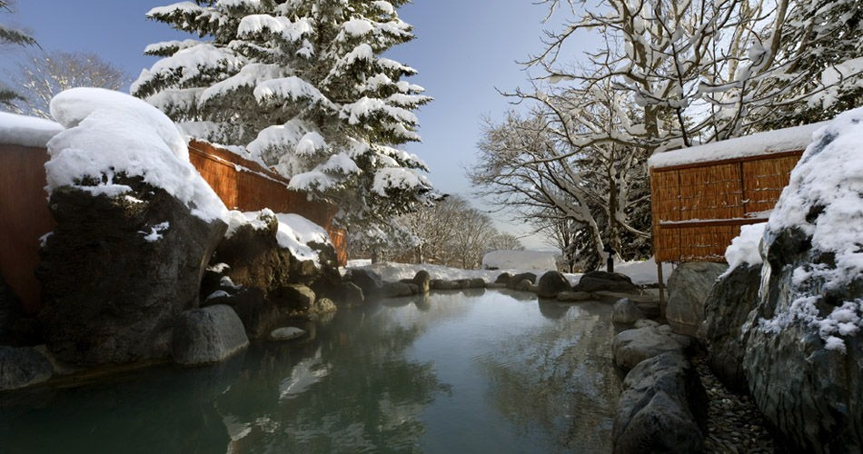 Complimentary onsen