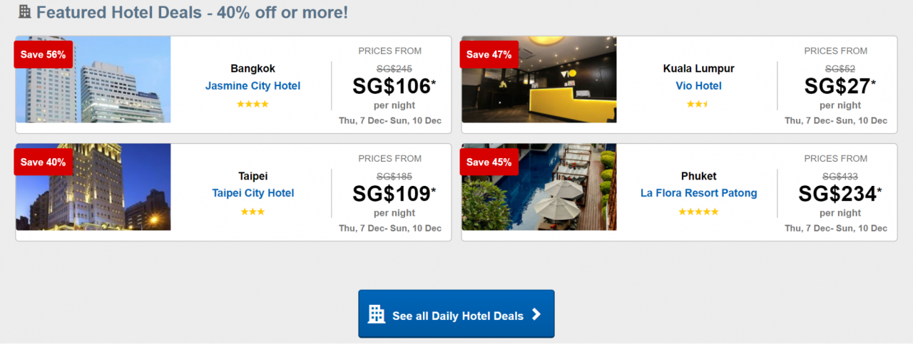 Expedia daily deals cheap and romantic couple vacations