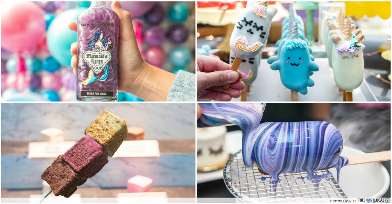 Marina Square Is Hosting A Whimsical Food Fair With Mermaid Tears Drinks, Unicorn Cake Pops & Piping Workshops