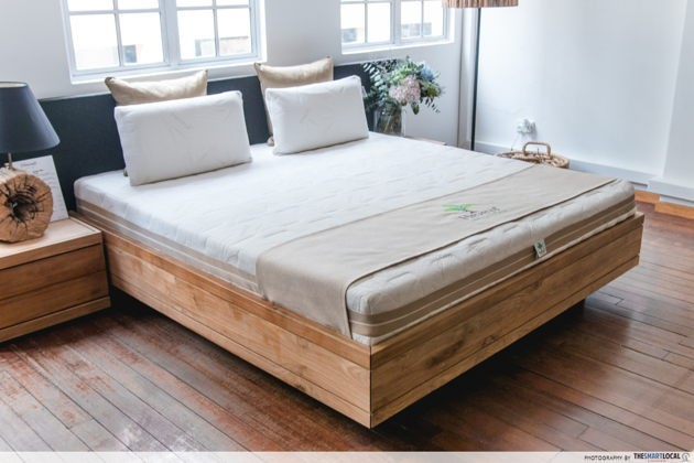 European Bedding natural organic customisable mattress giveaway Singapore