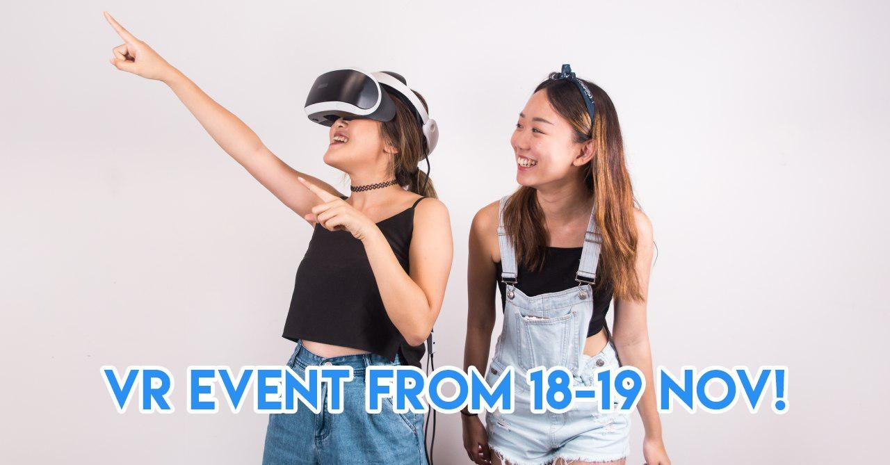 Orchard Cineleisure Has A VR Event This Saturday To Experience Cashless Travel