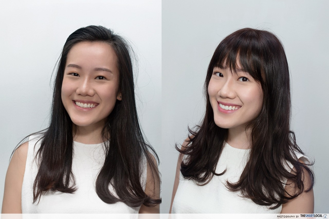 Hair Style Japan: 8 Complete Hairstyle Makeovers For Singaporean Girls On