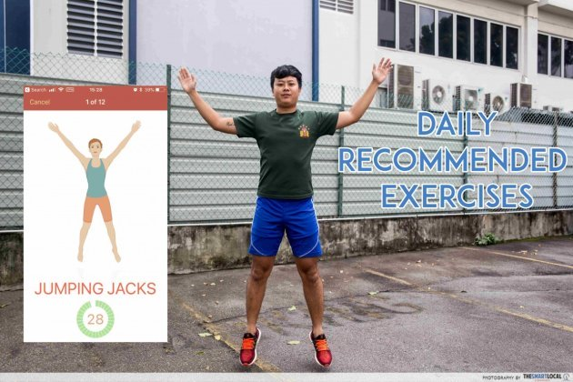 jumping jacks free fitness app