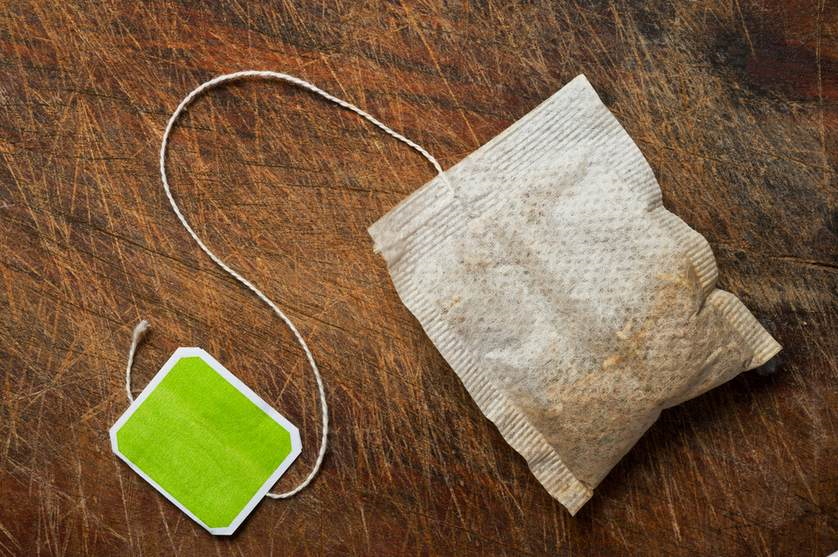 peppermint tea bags rats
