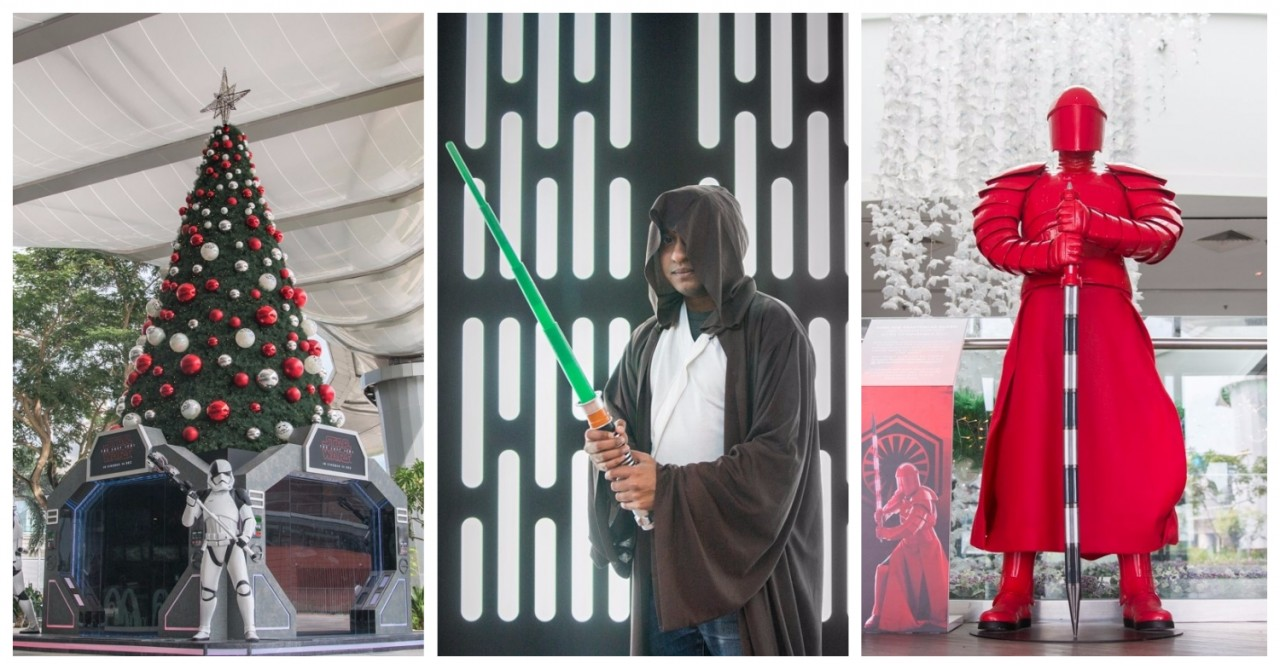 Changi City Point Is Bringing Its Star Wars Game This Christmas With Exclusive Collectibles & Themed Family Makeovers