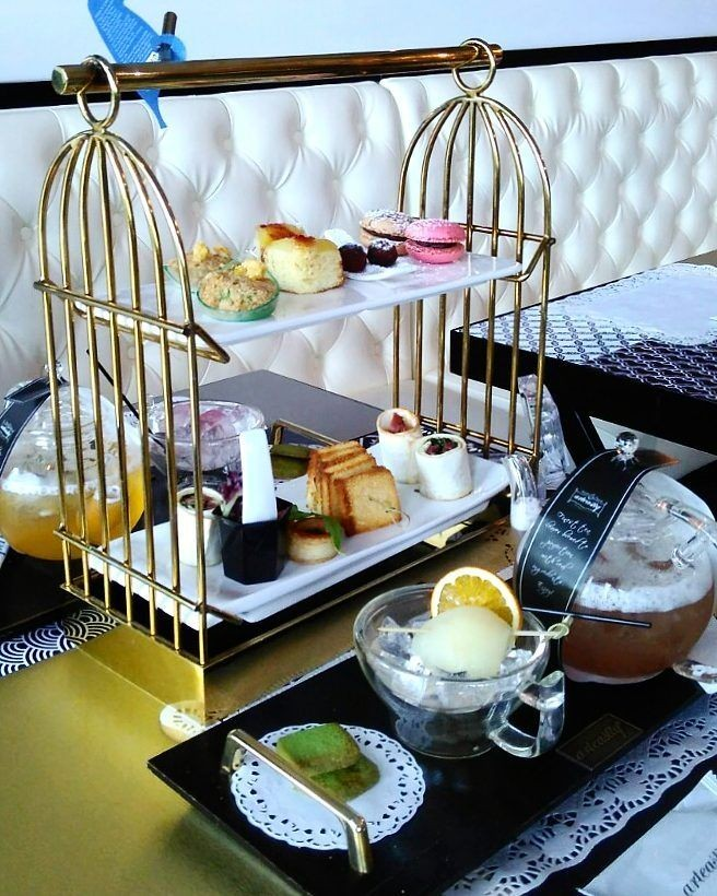Arteastiq Signature Teasery afternoon tea