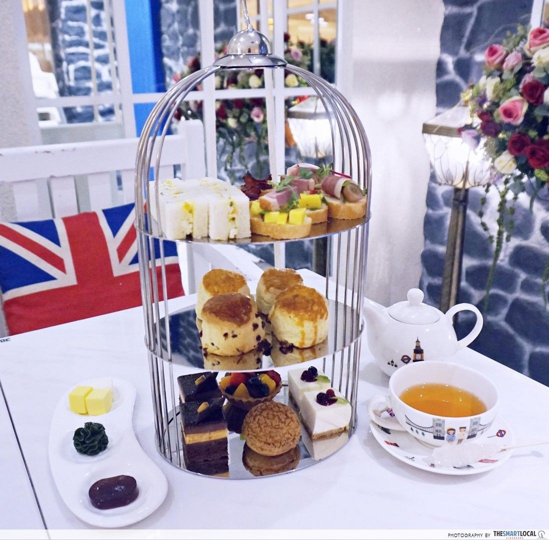 d'Good Cafe afternoon tea