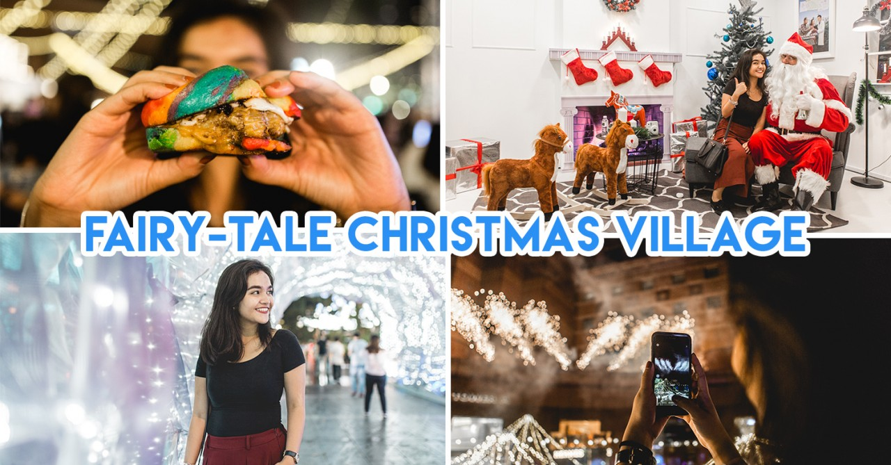 There's A Massive Pop-Up Christmas Village At Orchard Road With Food Stalls & Carnival Rides