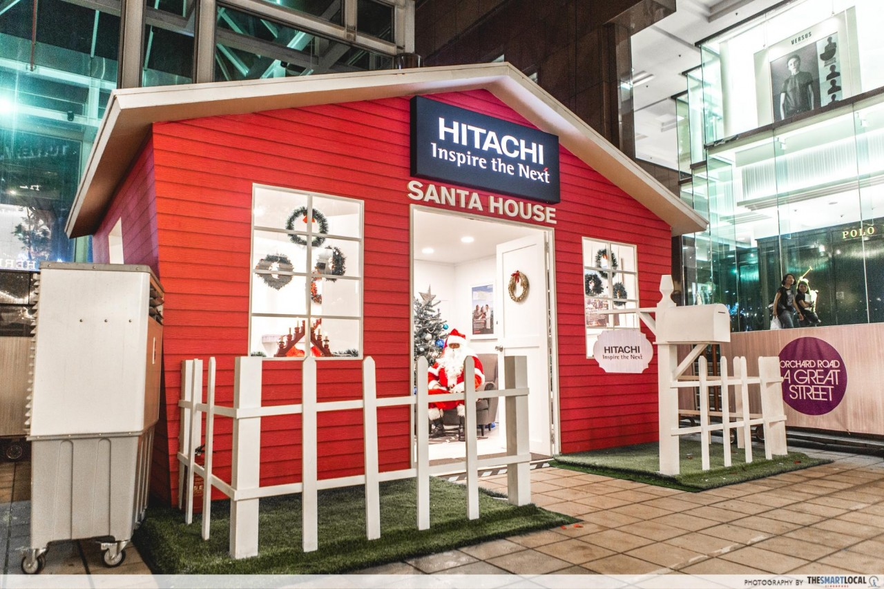 hitachi santa house