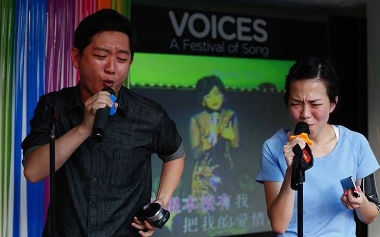 Go for a FREE Karaoke session at the Esplanade