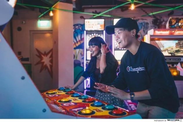 Unwind at Level Up, Clarke Quay's new arcade-bar