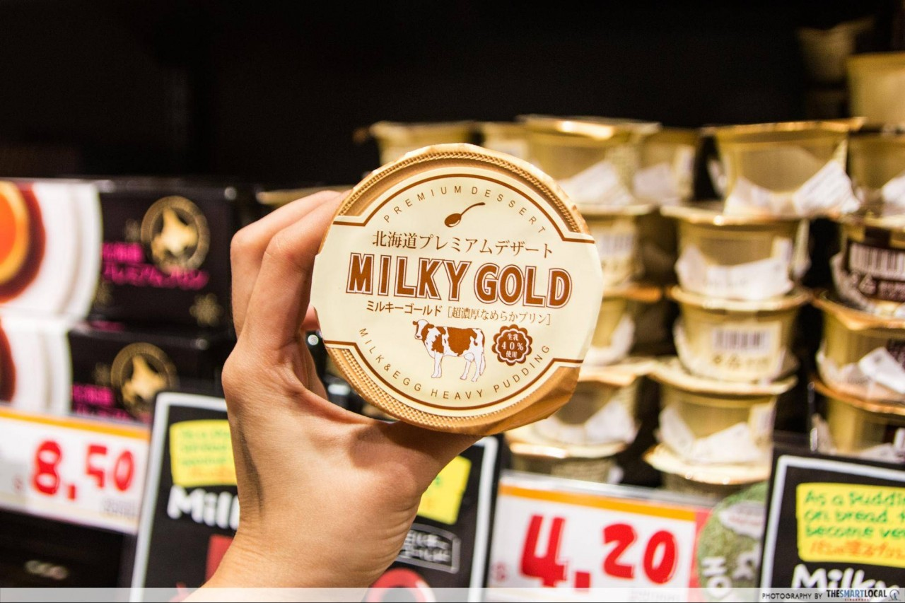 Milky Gold pudding spread for bread Don Don Donki