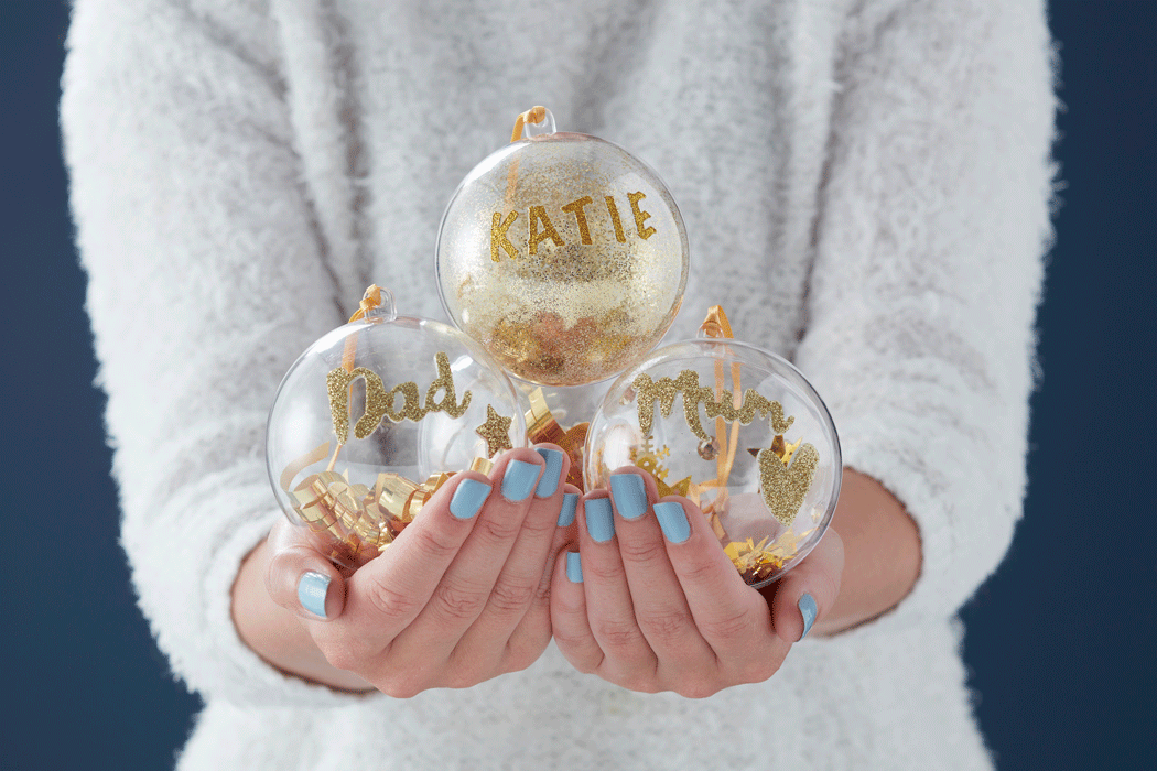 DIY bauble