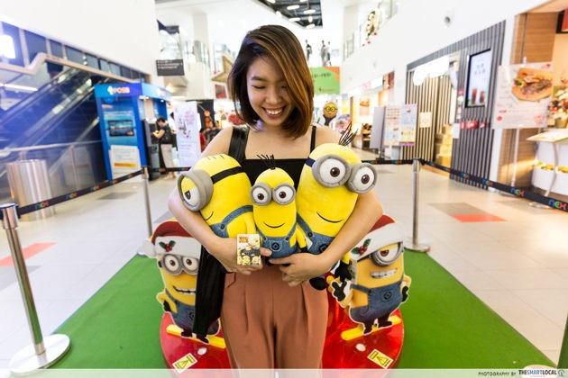 NEX Merry Minion Holiday Christmas promotion make-a-wish charity