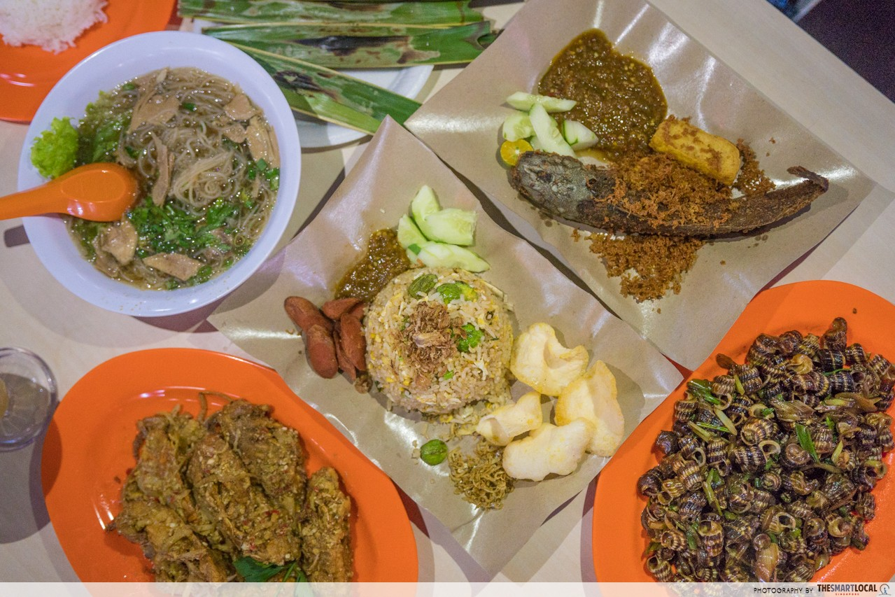 a2 food court indonesian food batam