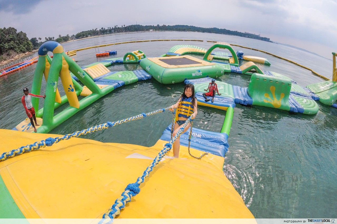 batam aqua adventure inflatable theme park