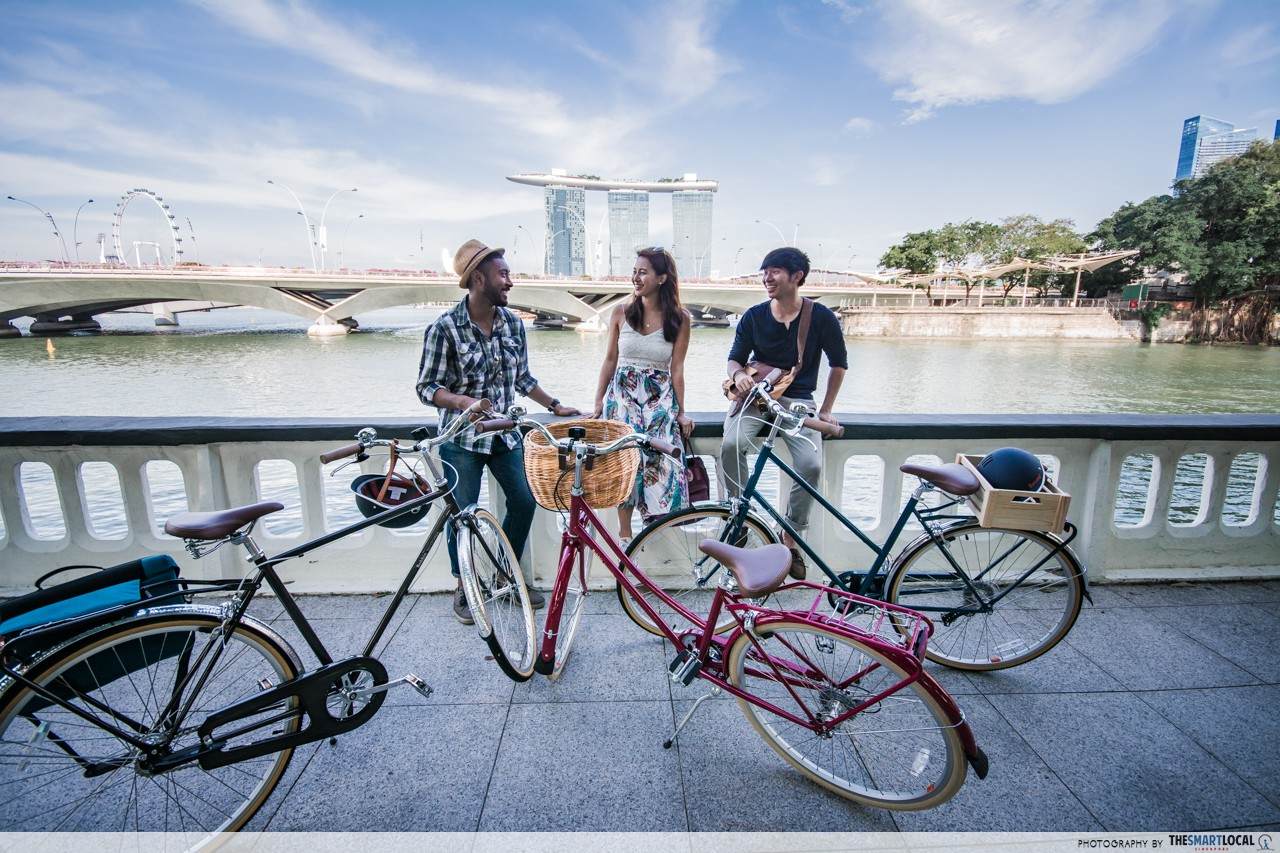 AXA Get Healthy Day with Mobike - Largest Parade of Bikeshare Bicycles