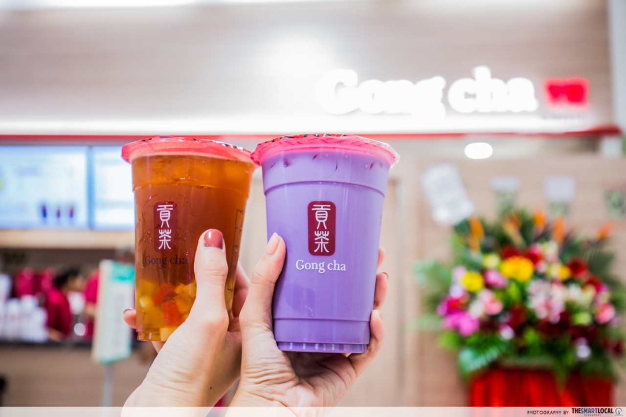 Gong Cha's New Outlet At Takashimaya Sells Only Their Most Popular Drinks With Promos On 7-12 December