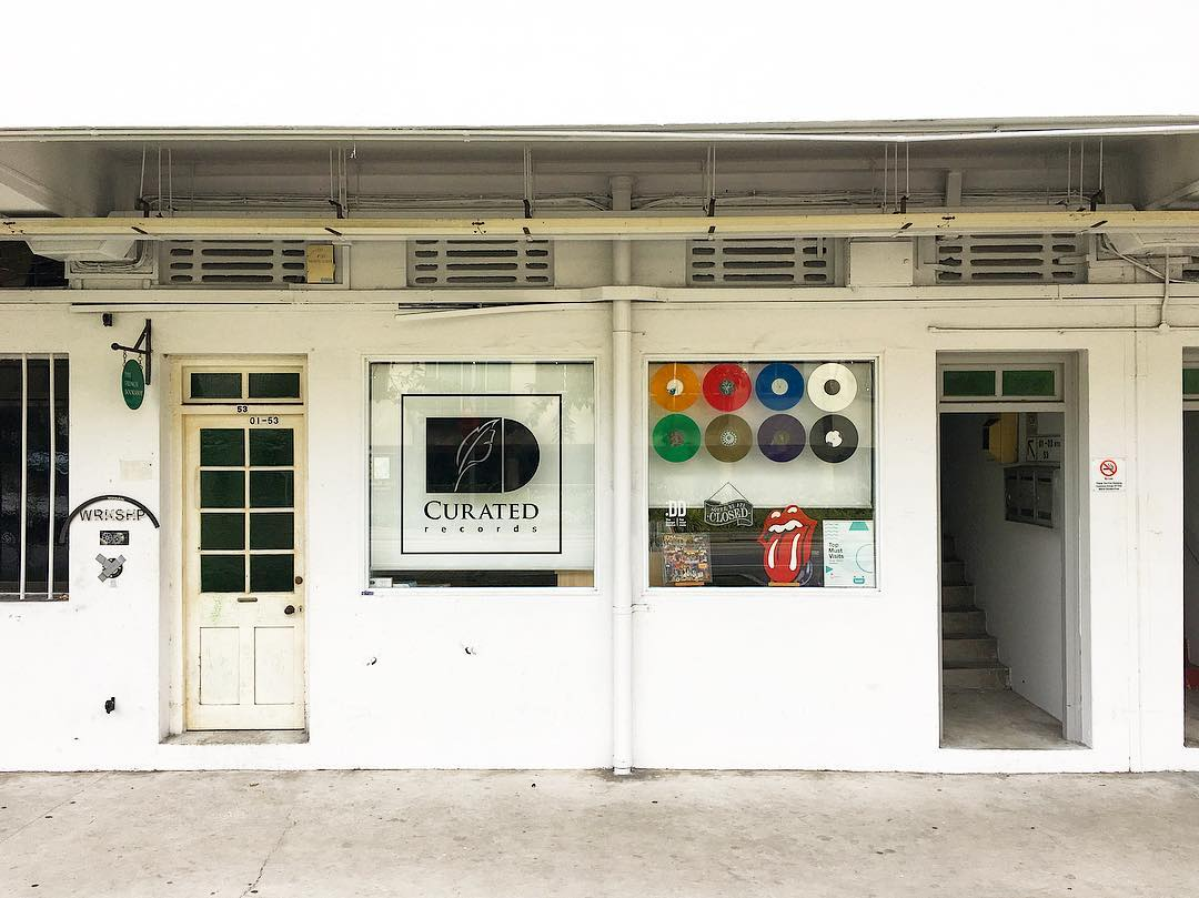 curated records exterior