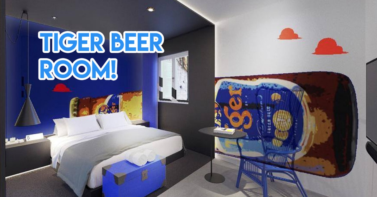 10 New Boutique Staycations Under $180/night In Singapore For People With No More Leave Left To Clear