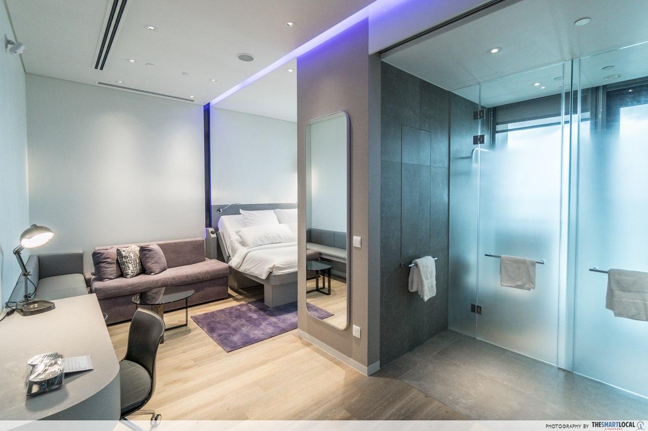 yotel hotel room