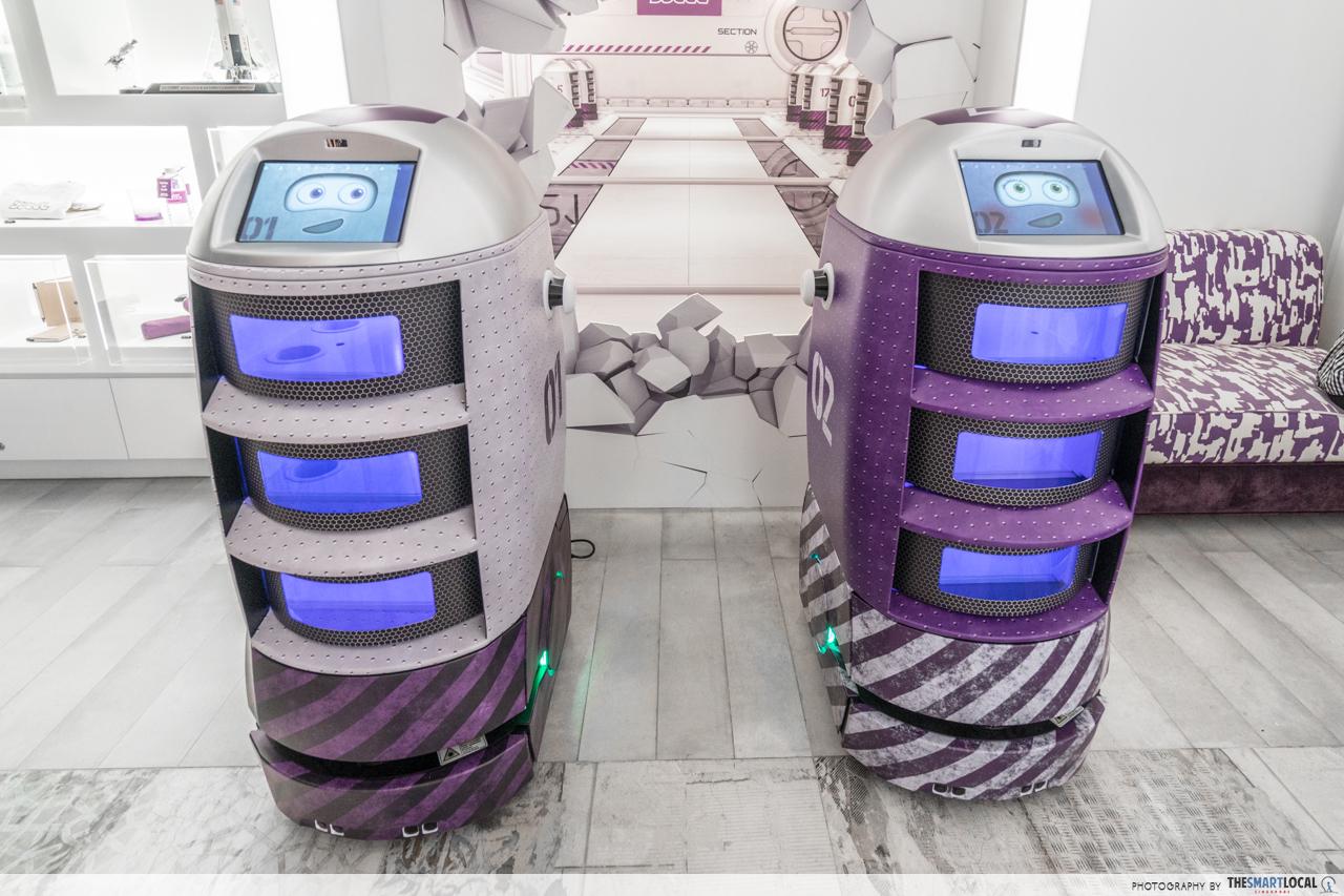 yotel housekeeping robots