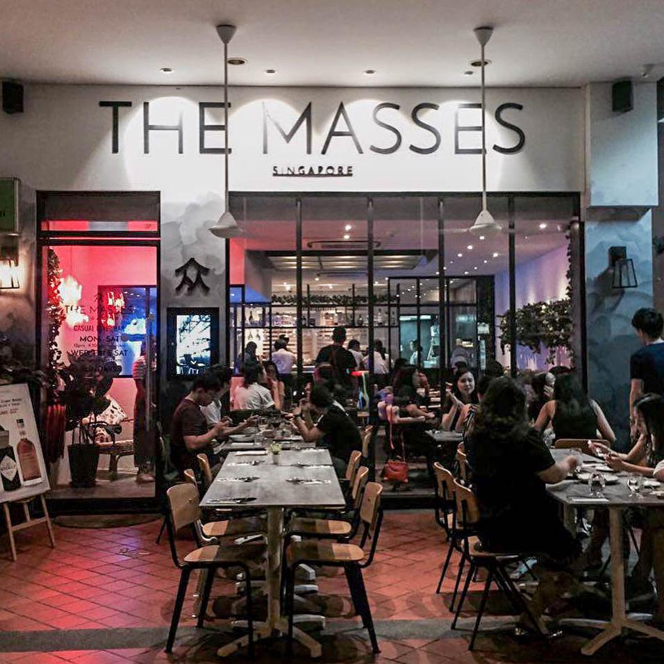 the masses cafe brunch