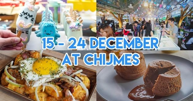 CHIJMES' Christmas Market Has Whimsical Cake Pops, French Crepes And Live Music Performances